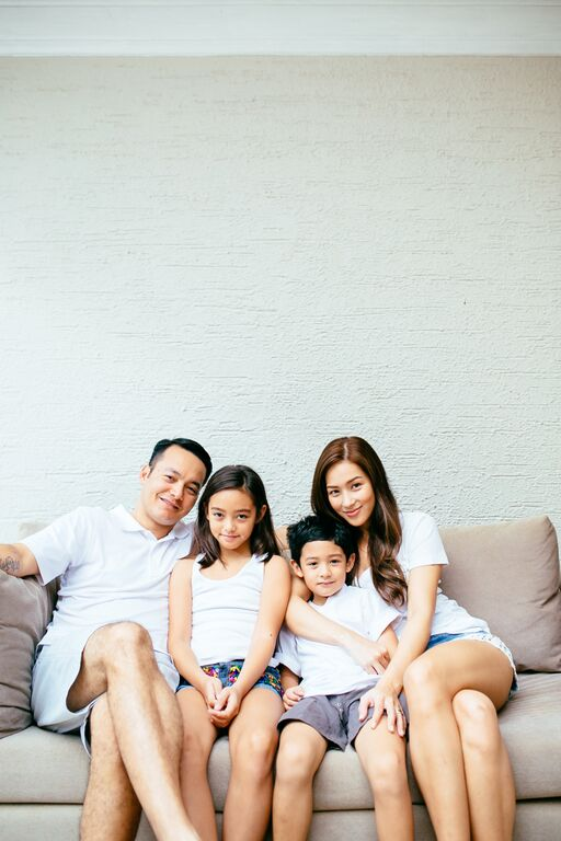 Mikaela Lagdameo Martinez Family Portrait